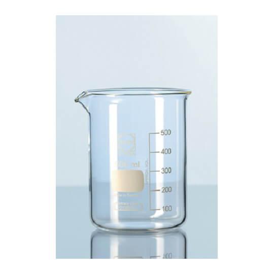 Schott Duran® 低型玻璃燒杯附刻度