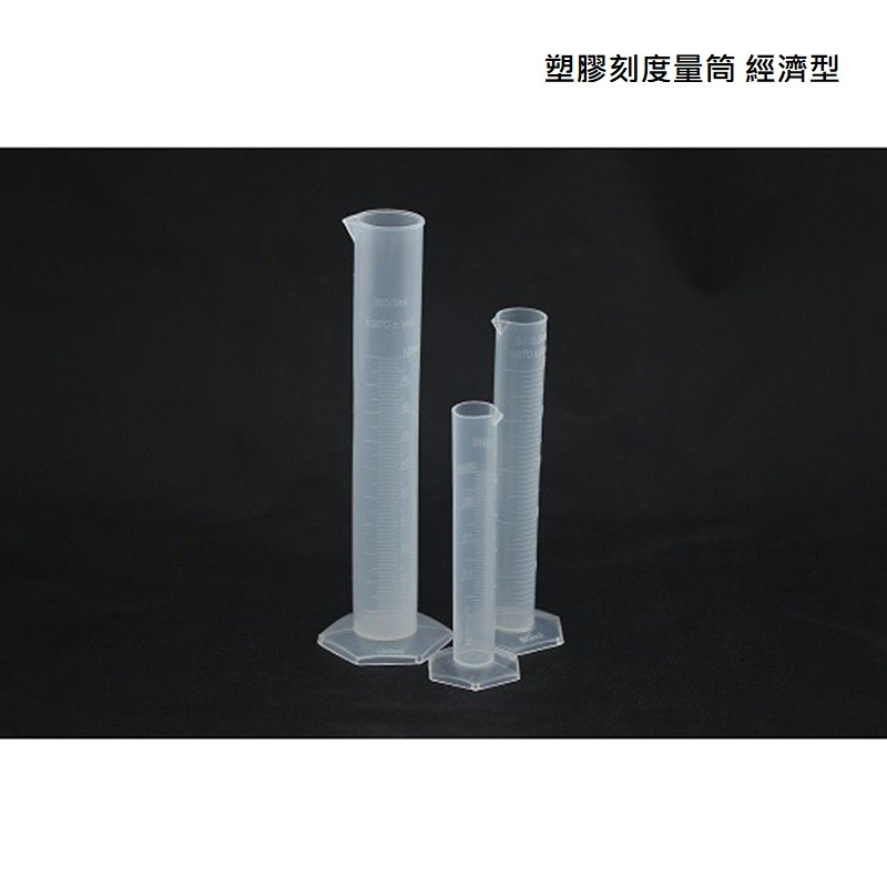 { 塑膠刻度量筒 經濟型  250 ml NG商品 }